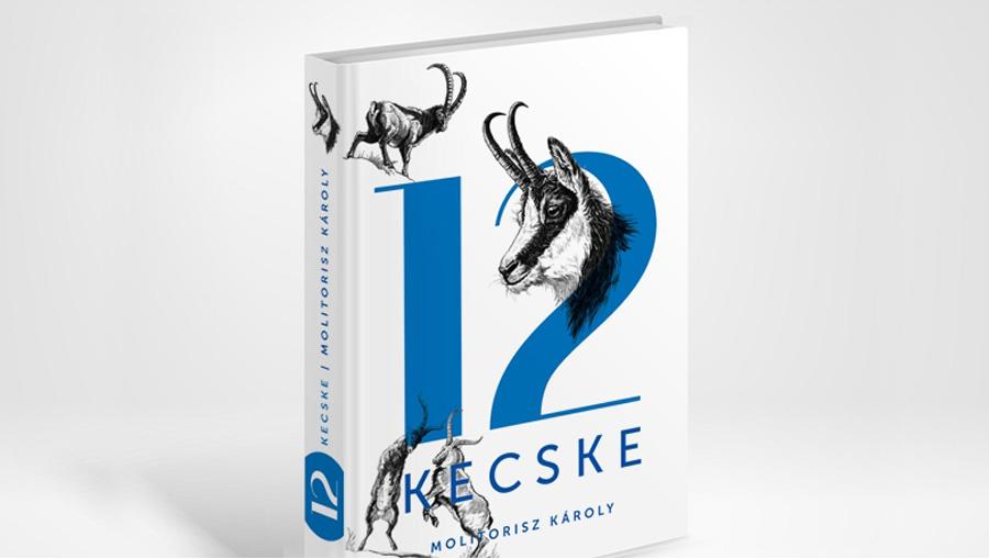 Molitorisz Károly: 12 kecske – könyv tervezés