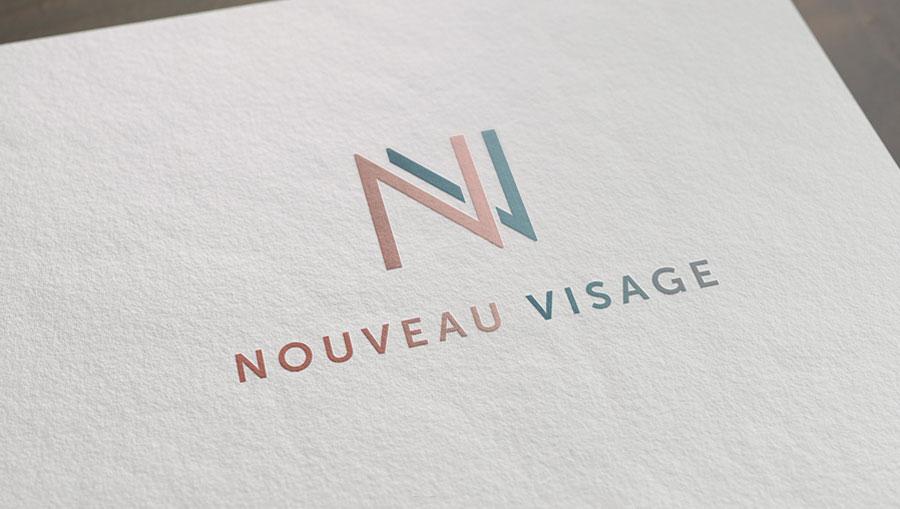 Nouveau Visage logó