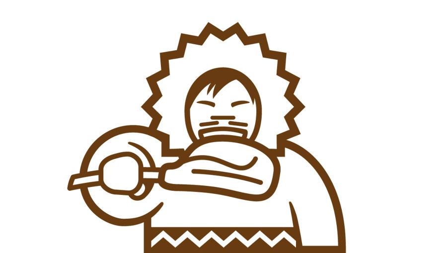 Éhes Eszkimó logó
