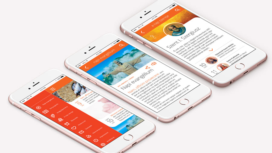 Mobil app design
